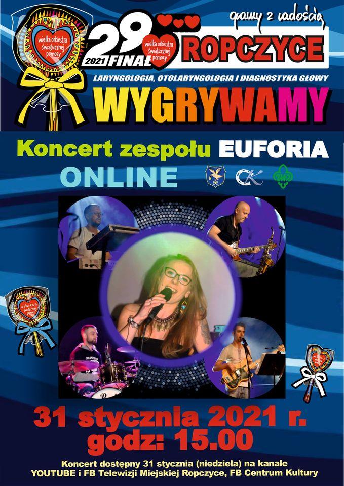 Koncert zespołu Euforia