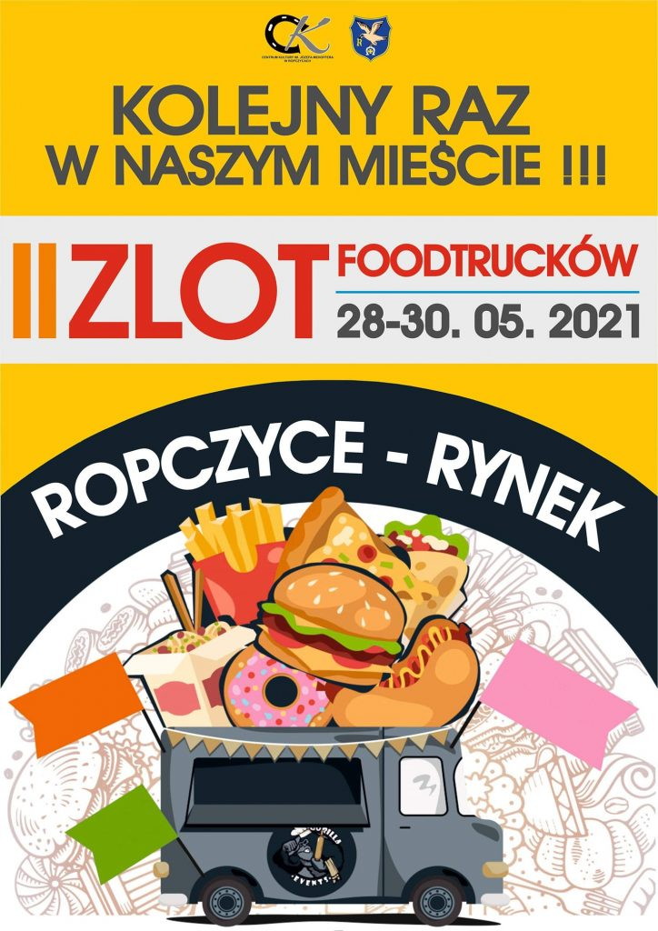 Zlot Food Trucków w Ropczycach