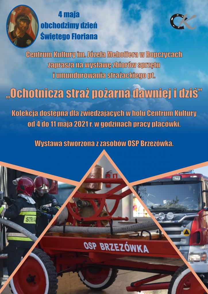 Wystawa sprzętu i umundurowania strażackiego
