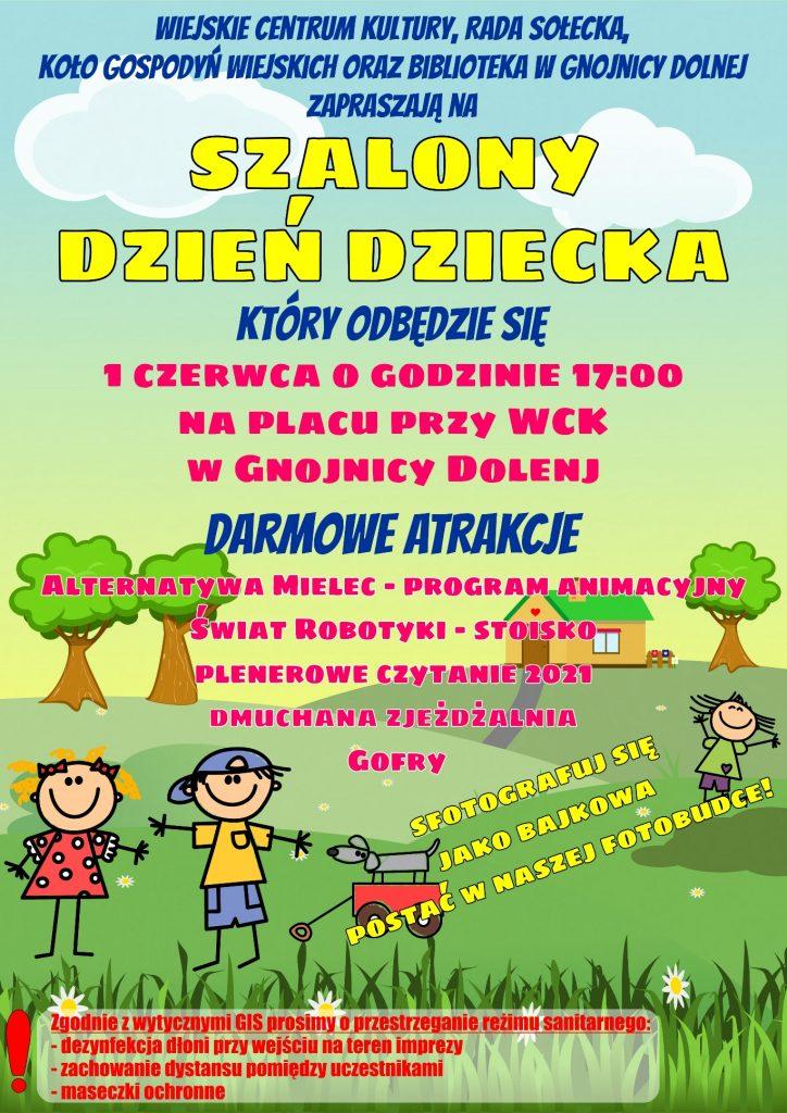 Międzynarodowy Dzień Dziecka w Gnojnicy