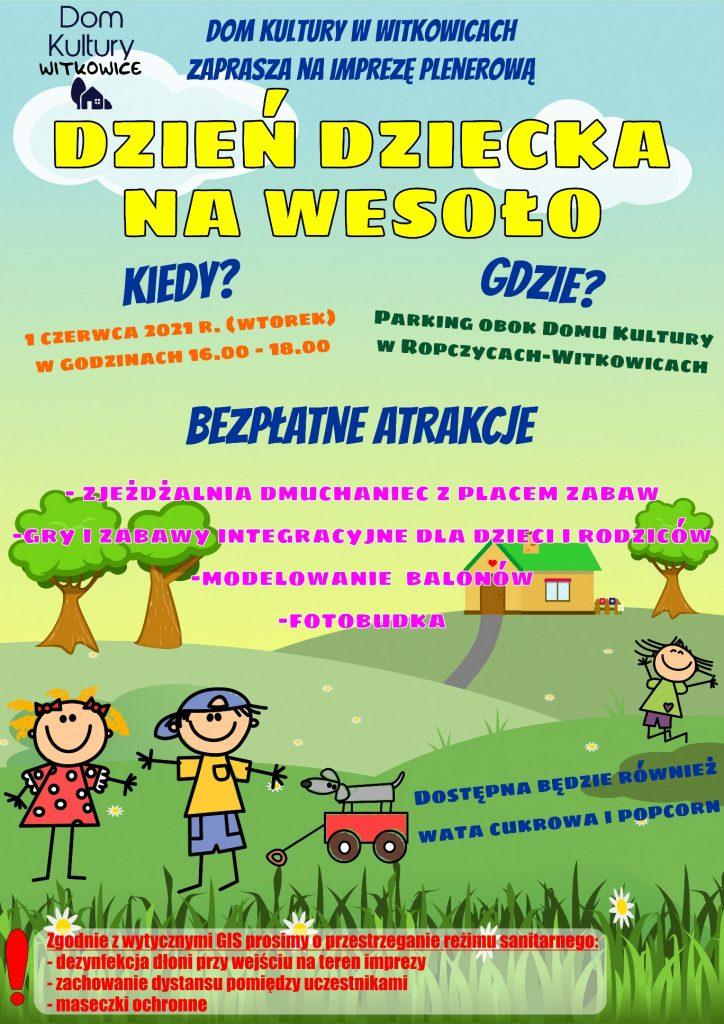 Międzynarodowy Dzień Dziecka w Witkowicach
