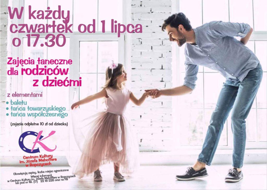 Zajęcia taneczne dla rodziców w dziećmi