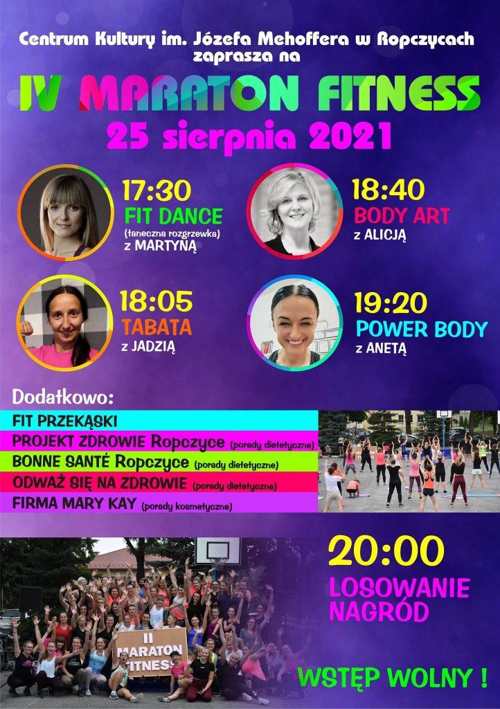 Program IV Maratonu Fitness