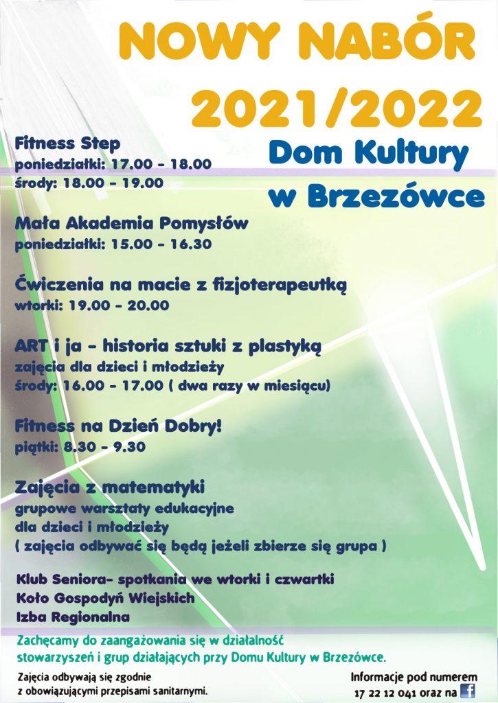 Zapraszamy na zajęcia do Brzezówki